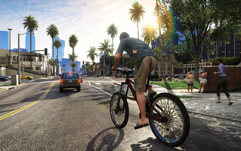 Выход GTA 5 отложили на сентябрь